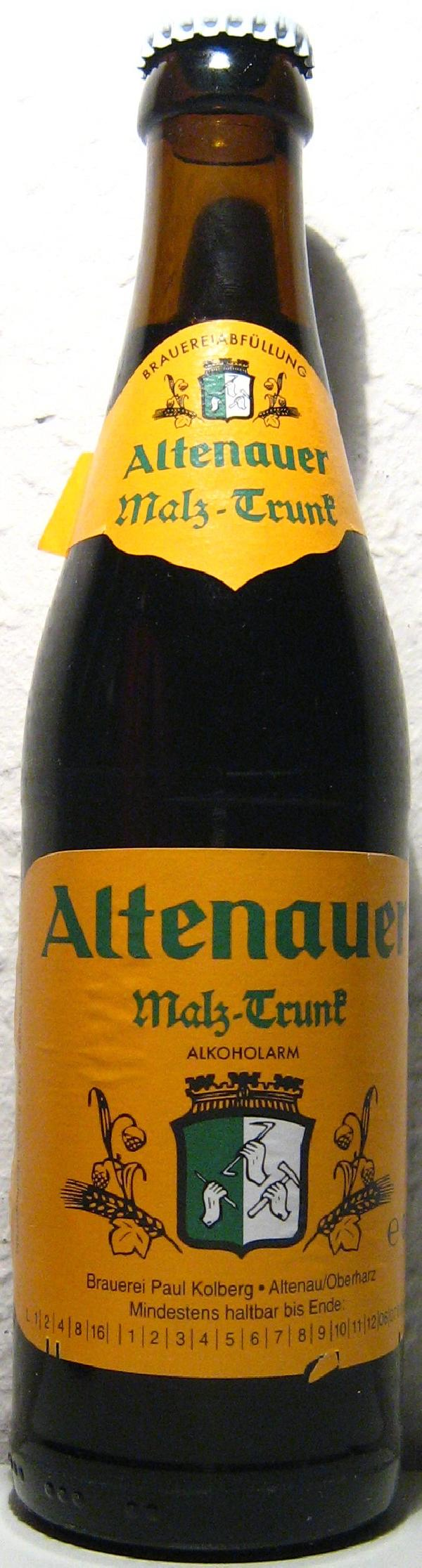 Altenauer Malz-Trunk